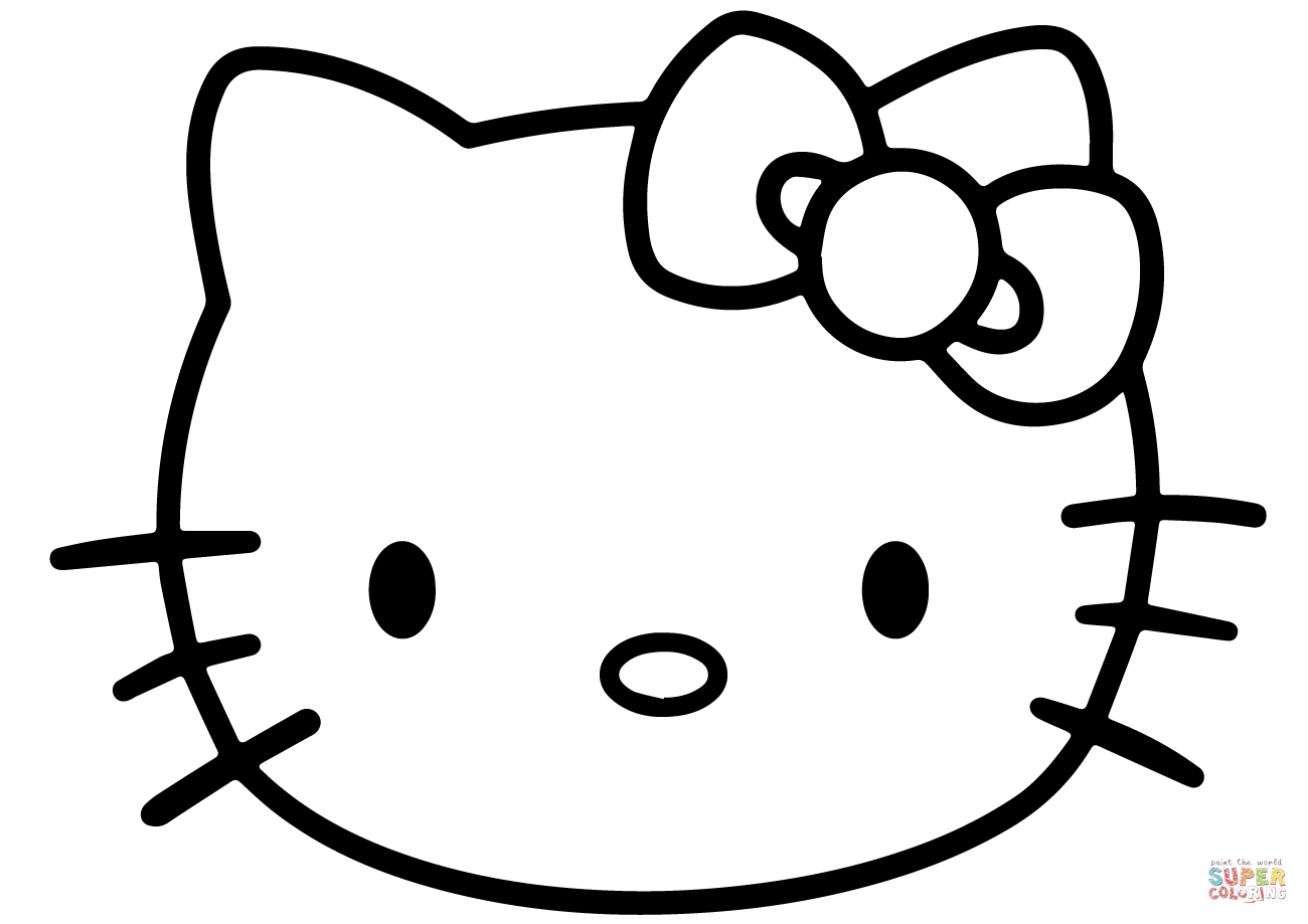 hello kitty outline picture hello kitty clip art clipart best kitty outline picture hello