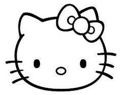 hello kitty outline picture hello kitty outline picture hello outline picture kitty