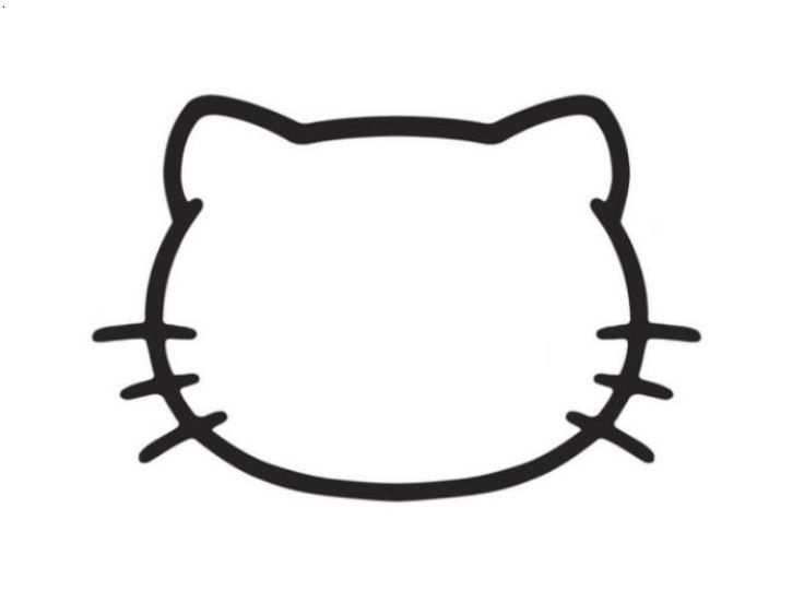 hello kitty outline picture hello kitty valentines day coloring pages valentines hello kitty picture outline