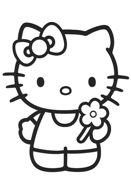 hello kitty outline picture kitty face drawing free download on clipartmag outline hello kitty picture