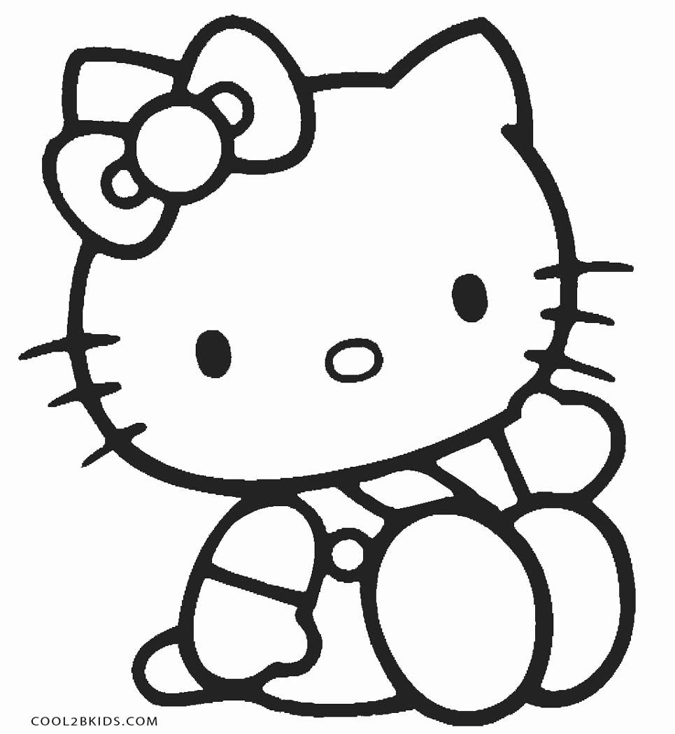 hello kitty pages hello kitty coloring pages free for kids hello kitty pages