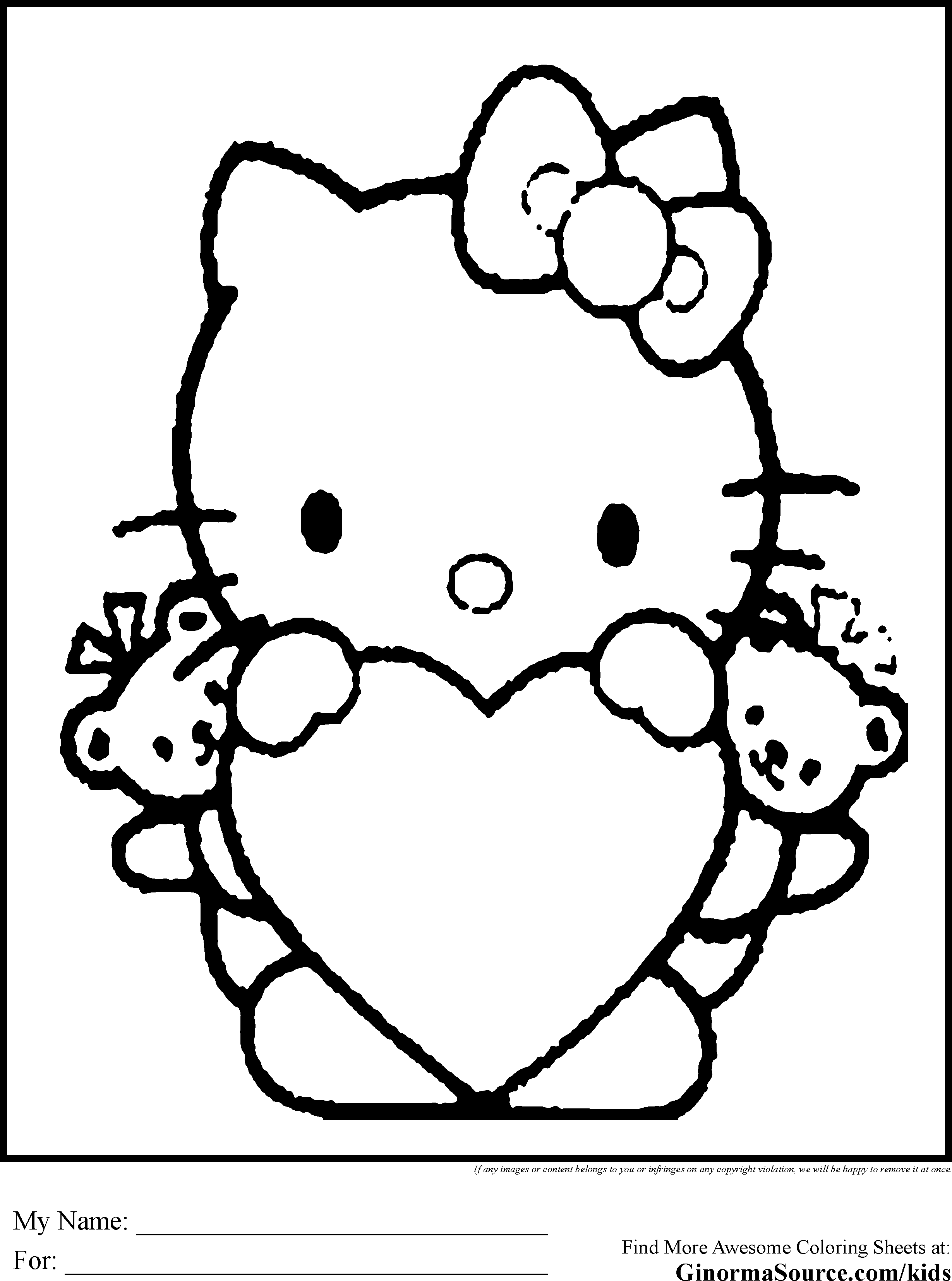 hello kitty valentines day coloring pages hello kitty valentine coloring pages coloring home coloring hello pages day valentines kitty