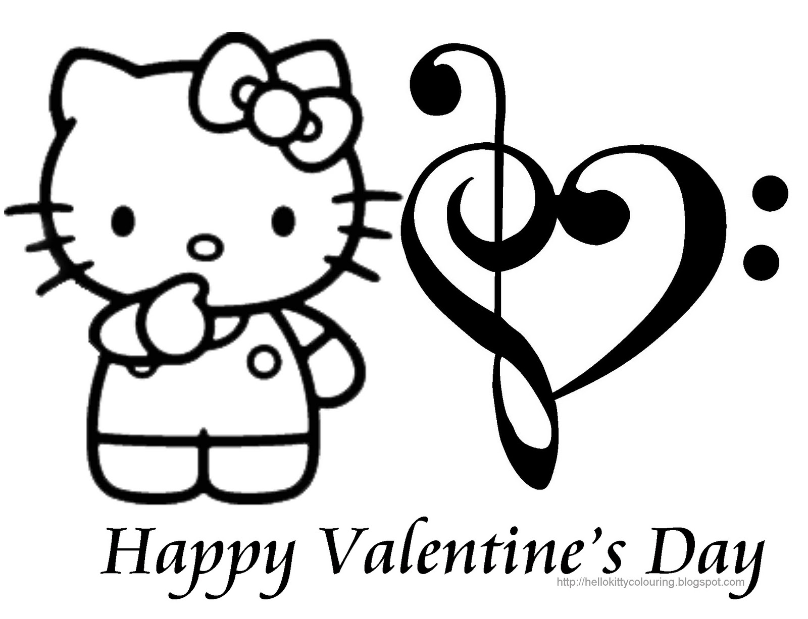 hello kitty valentines day coloring pages hello kitty valentine coloring pages coloring home day coloring pages hello valentines kitty