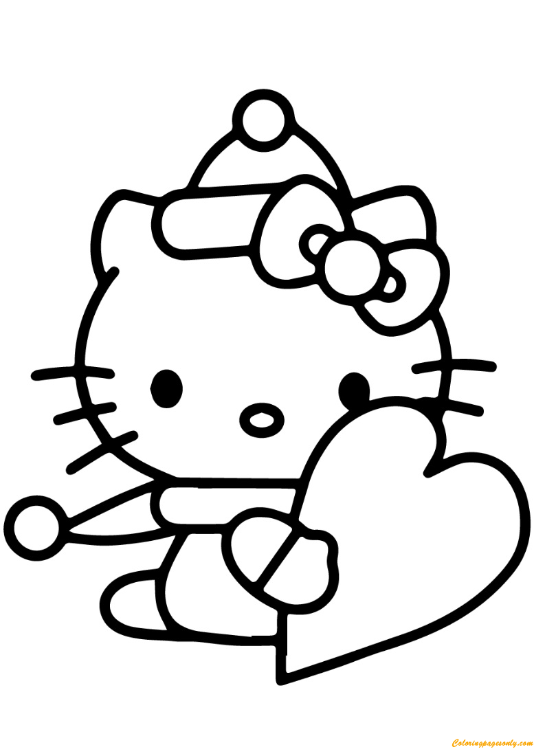 hello kitty valentines day coloring pages hello kitty valentine coloring pages free printable coloring day valentines kitty coloring pages hello