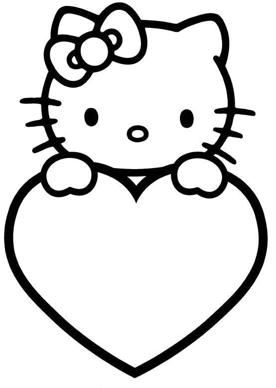 hello kitty valentines day coloring pages hello kitty valentine39s day cupid coloring page free kitty coloring valentines hello day pages