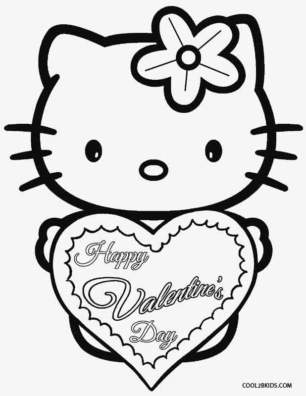 hello kitty valentines day coloring pages hello kitty valentines coloring pages getcoloringpagescom valentines kitty pages day hello coloring