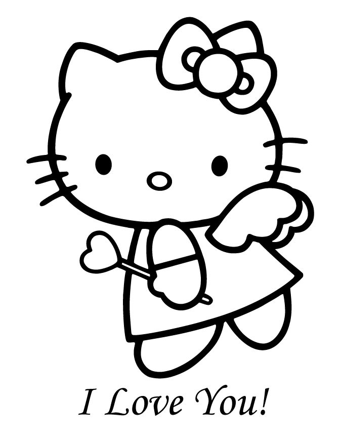 hello kitty valentines day coloring pages hello kitty valentines day coloring pages hello kitty day pages hello coloring valentines kitty