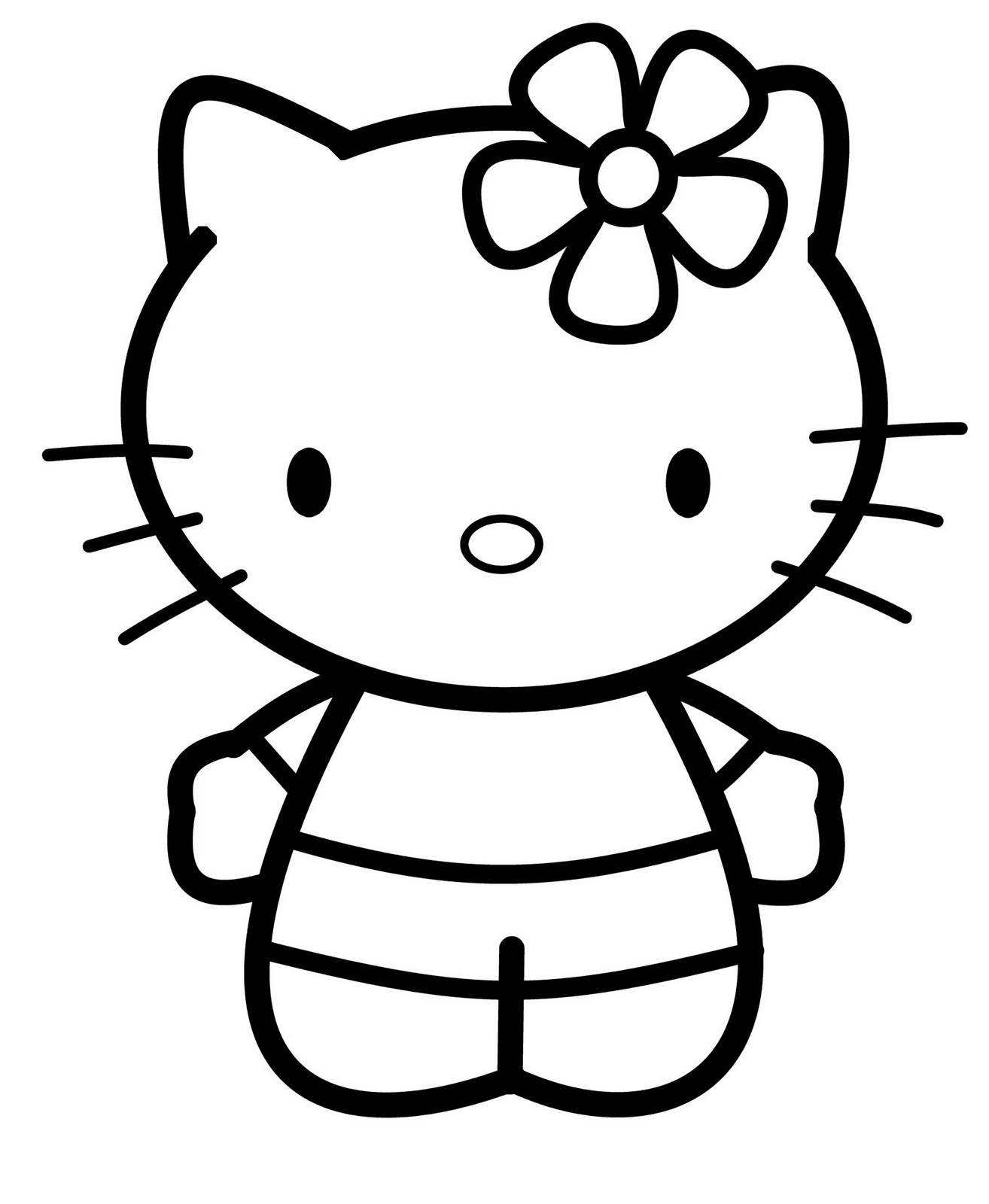 hellokitty drawing hello kitty face drawing at paintingvalleycom explore drawing hellokitty