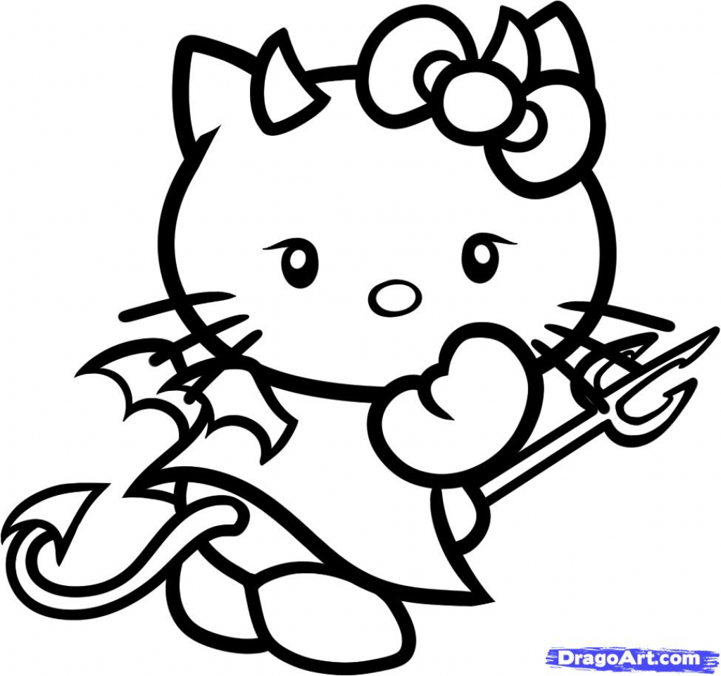hellokitty drawing kitty drawing easy at paintingvalleycom explore hellokitty drawing