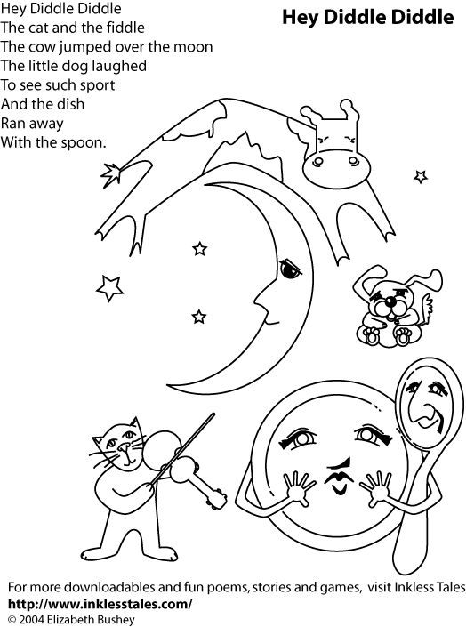 hey diddle diddle coloring page 53 best coloring pages images on pinterest coloring coloring hey diddle page diddle