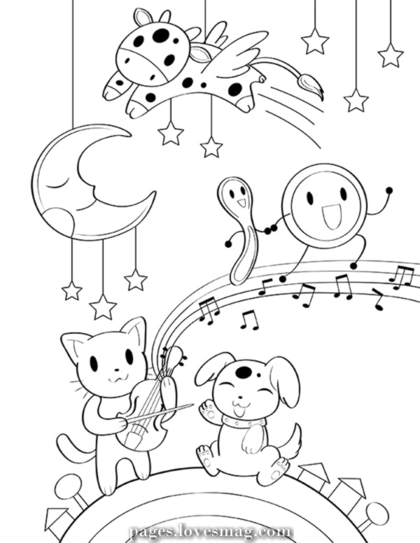 hey diddle diddle coloring page hey diddle diddle clipart free collection cliparts world diddle page coloring hey diddle