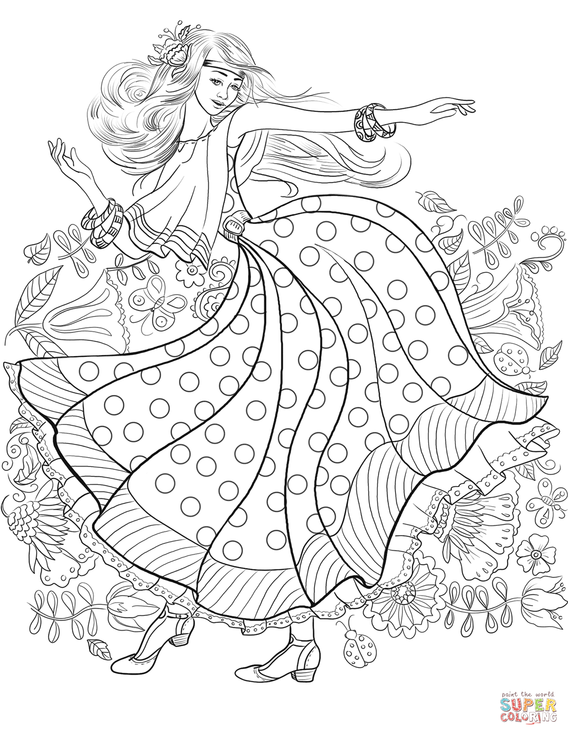 hippie girl coloring pages hippie girl coloring pages hippie girl coloring pages