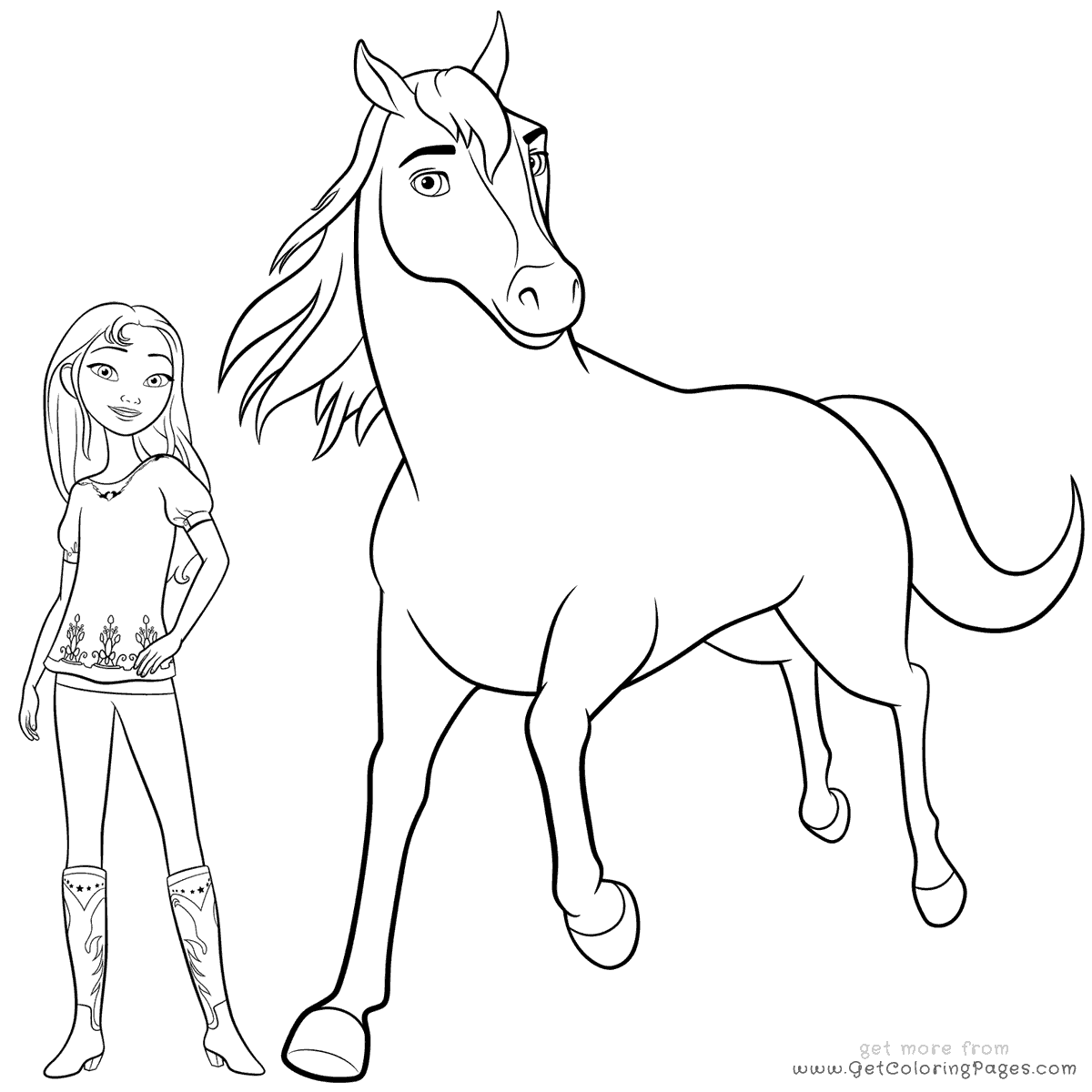 horse coloring pages for girls coloring pages for girls horse free coloring home for pages coloring girls horse