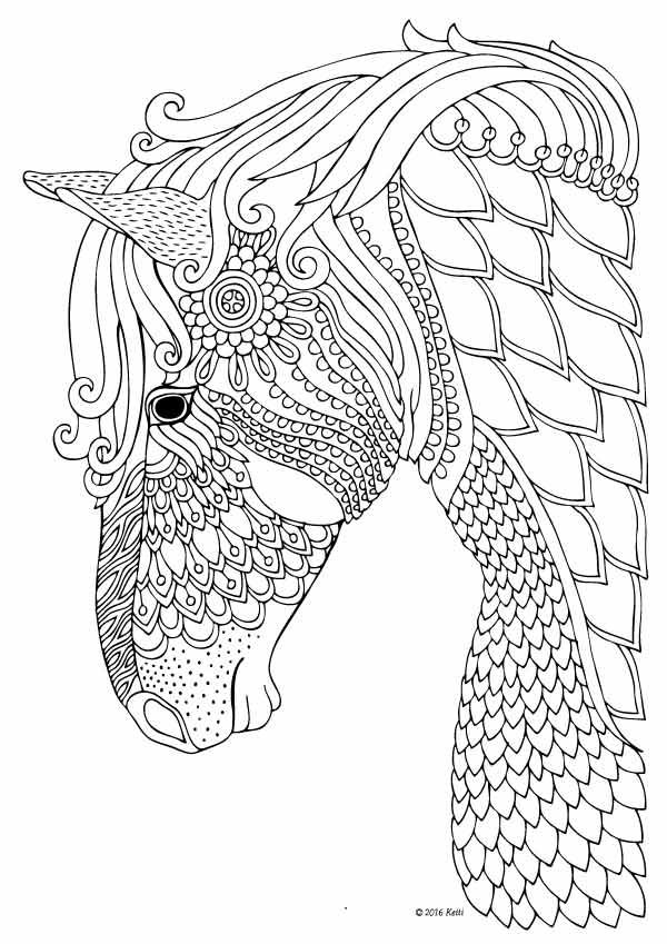 horse coloring pages for girls colorings of horses horse for pages coloring girls