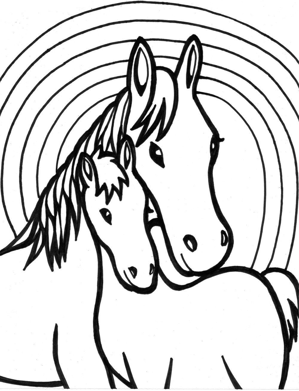 horse coloring pages for girls little girl riding horse animal coloring pages animal girls for horse coloring pages
