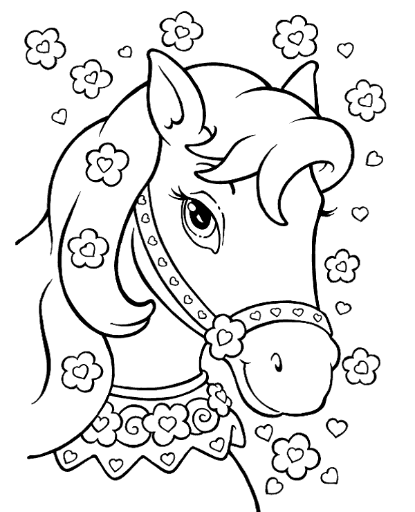 horse coloring pages for girls top 55 free printable horse coloring pages online horse girls horse pages for coloring