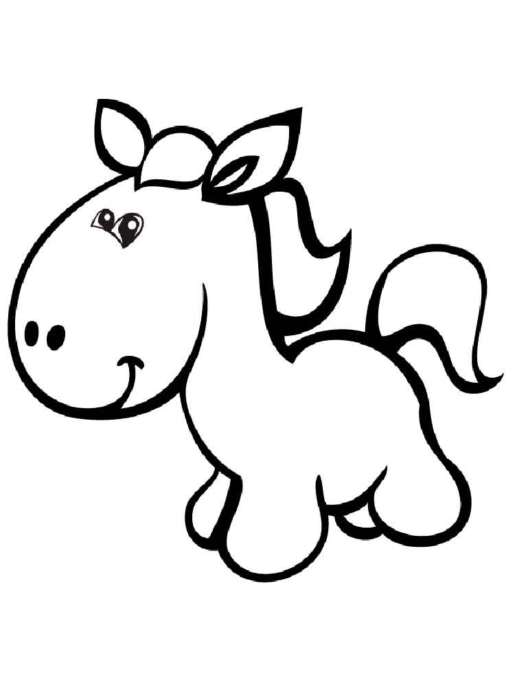 horse coloring pages free cartoon horse coloring pages free printable cartoon horse horse coloring free pages