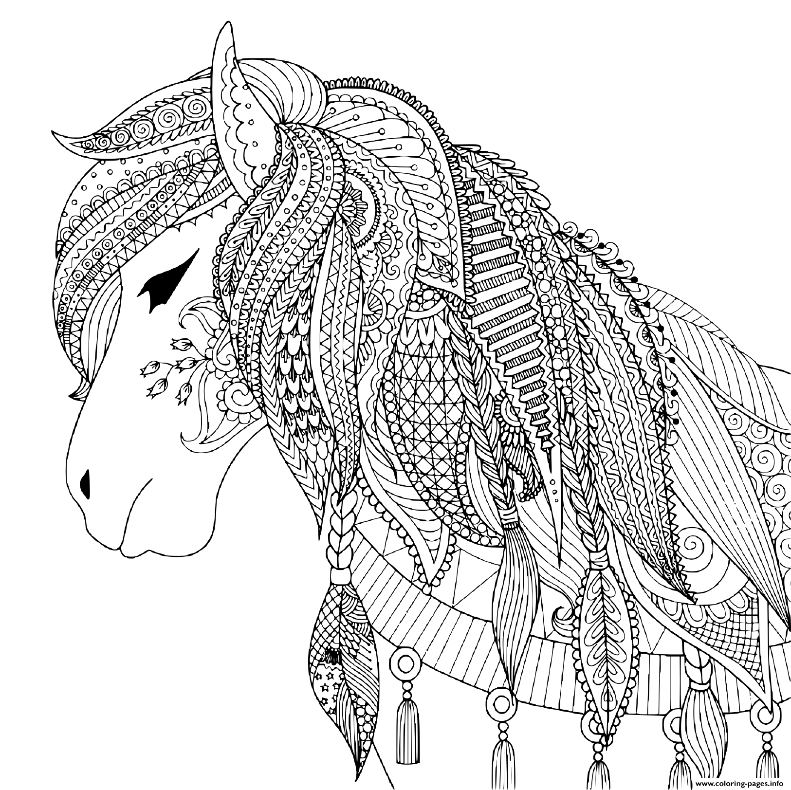 horse coloring pages online get this free printable horses coloring pages for kids i86om pages horse online coloring