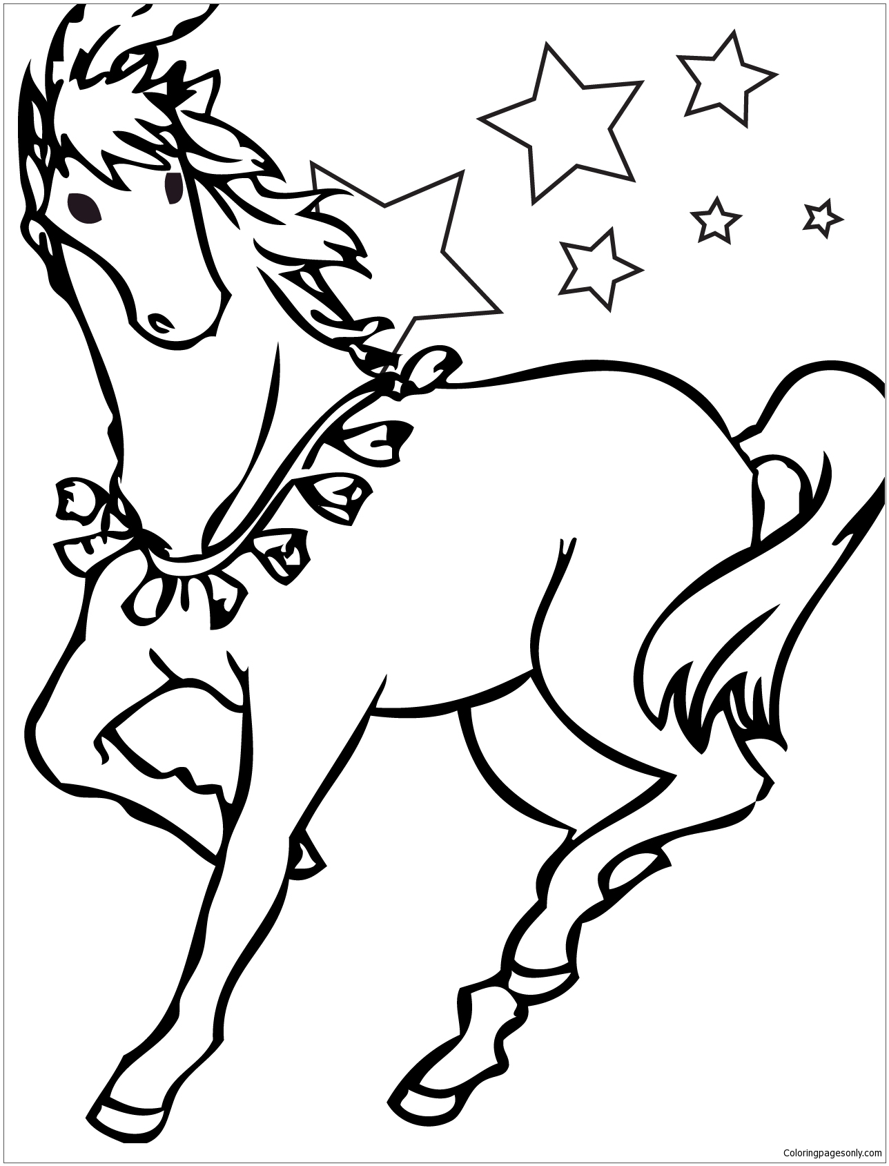 horse coloring pages online horse coloring pages horse coloring pages adult coloring online pages horse