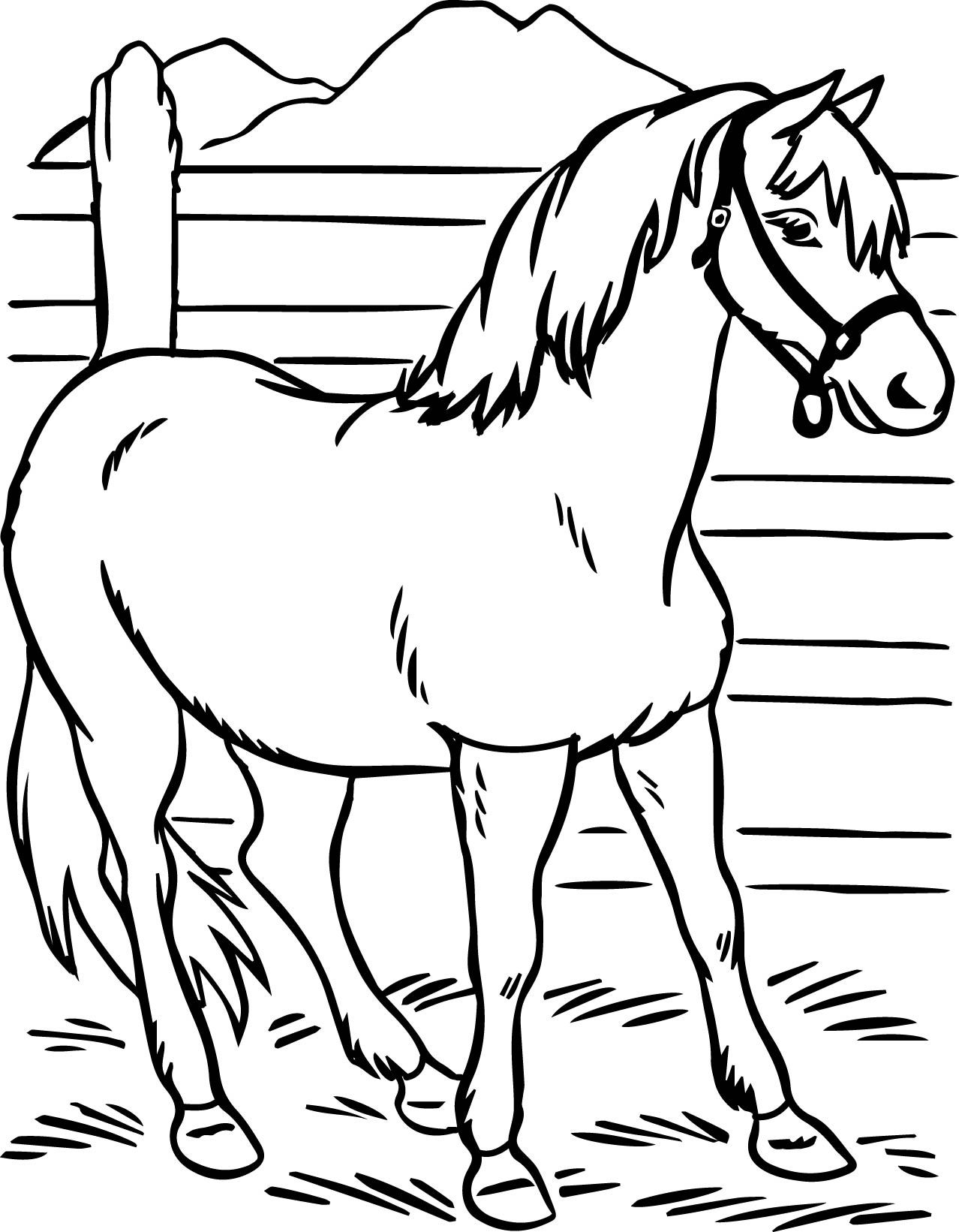 horse printables coloring pages horse coloring pages to download and print for free printables coloring horse pages