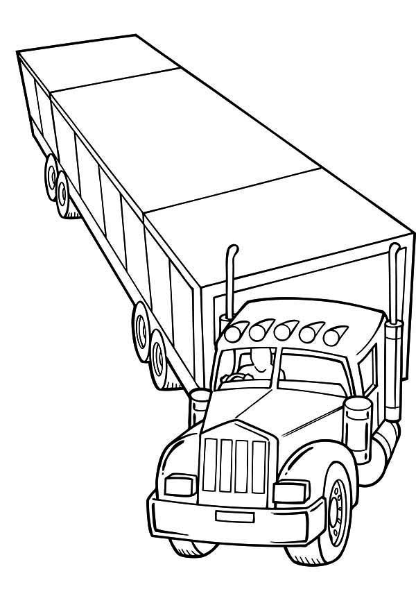 horse trailer coloring pages horse trailer drawing at getdrawings free download coloring trailer pages horse