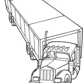horse trailer coloring pages instant download pop up travel trailer in the woods horse trailer pages coloring