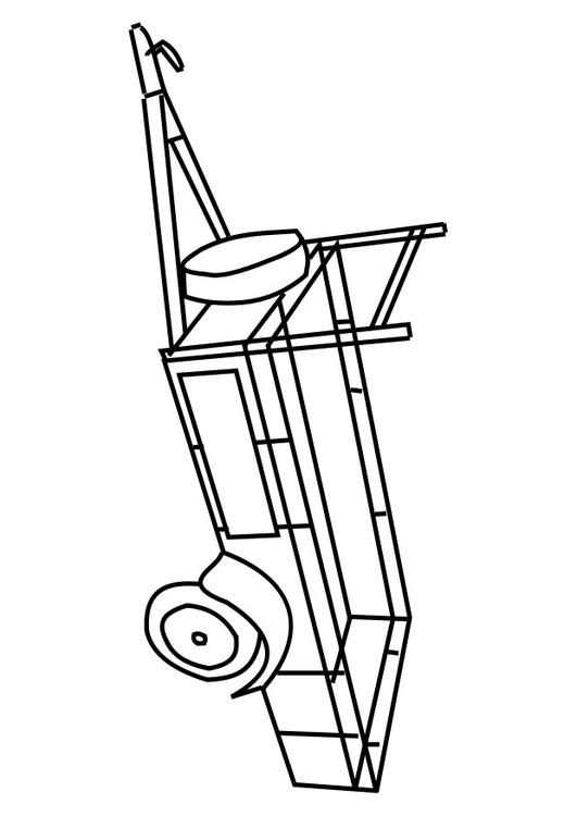 horse trailer coloring pages livestock trailer pages coloring pages trailer pages coloring horse