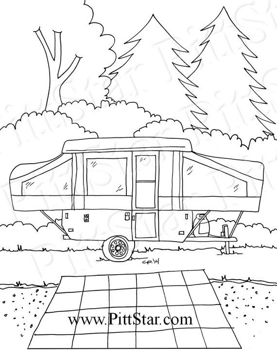 horse trailer coloring pages semi trailer truck coloring page for kids transportation pages horse trailer coloring