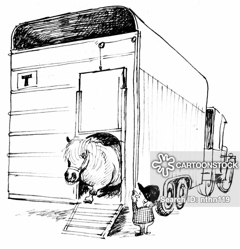 horse trailer coloring pages tractor trailer drawing at getdrawings free download trailer horse pages coloring