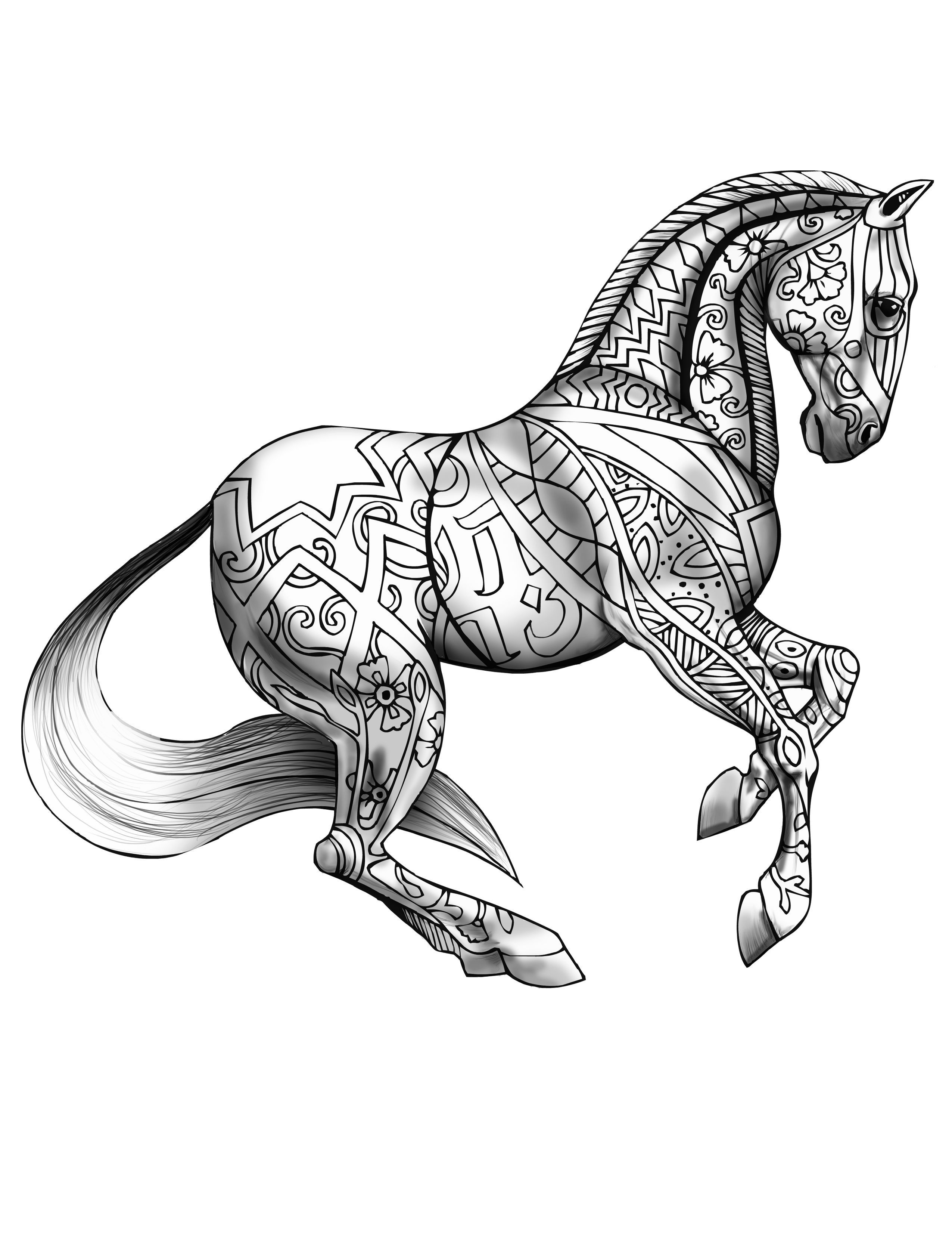 horses to print and color 30 best horse coloring pages ideas weneedfun print to horses color and