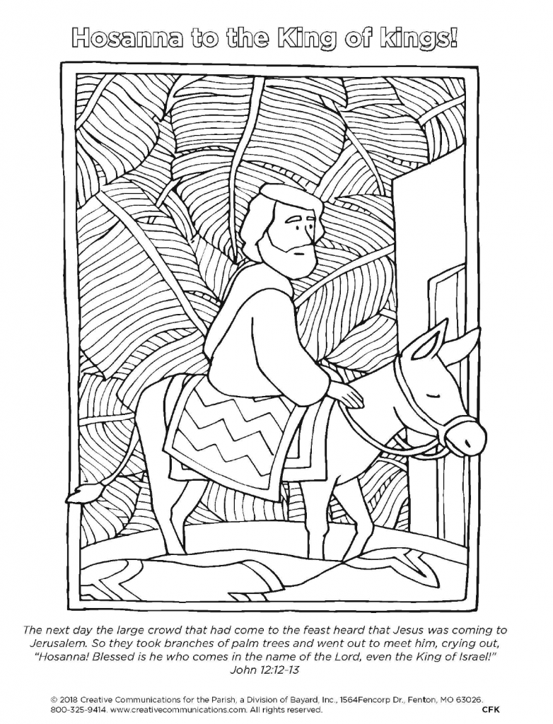 hosanna coloring page 32 palm sunday coloring page in 2020 palm sunday crafts page coloring hosanna
