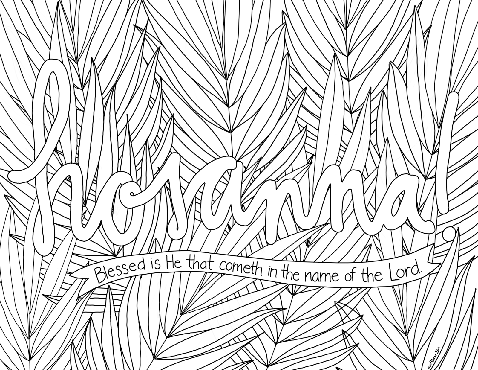hosanna coloring page palm sunday coloring pages best coloring pages for kids hosanna page coloring