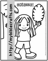 hosanna coloring page palm sunday coloring pages palm sunday palm sunday hosanna coloring page