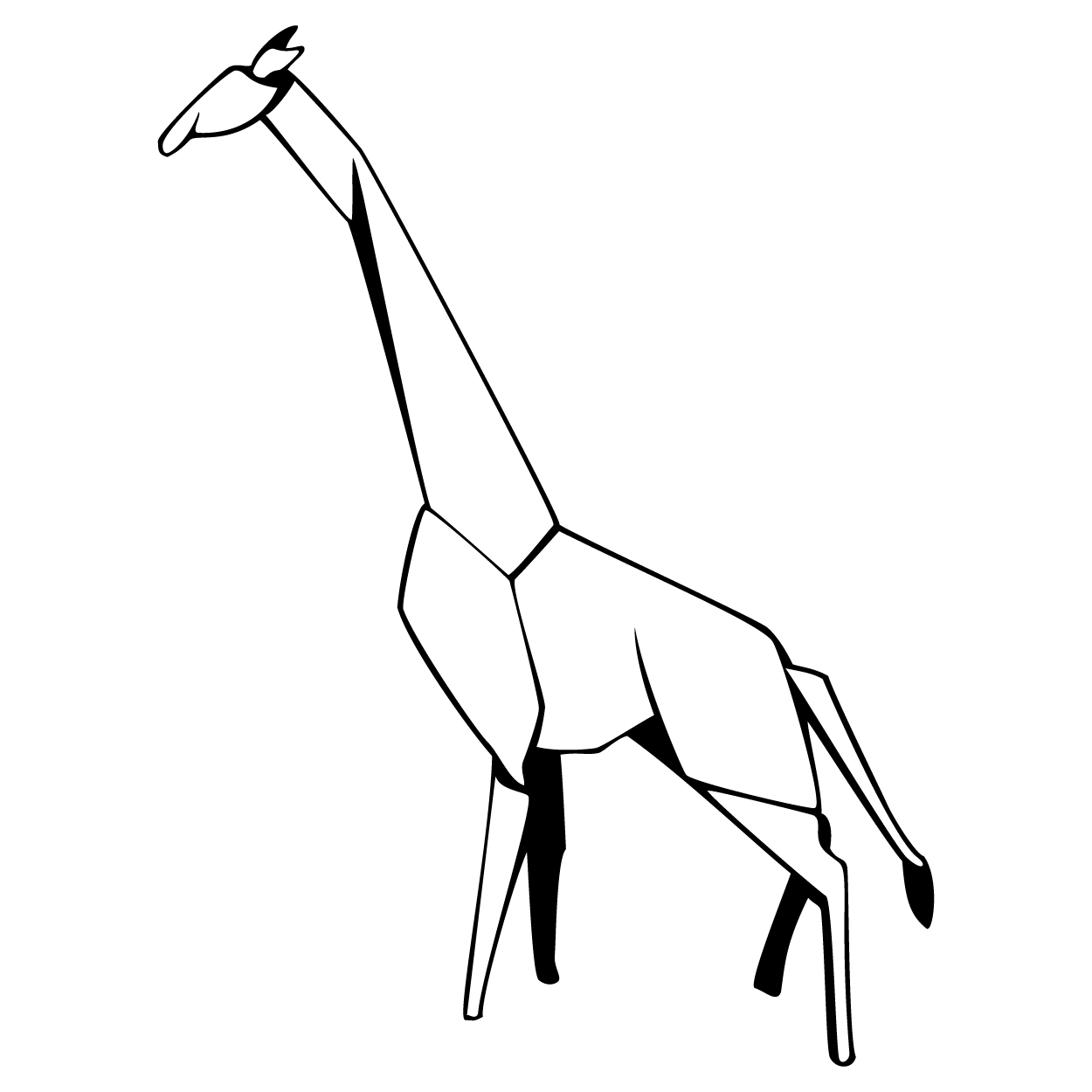 how do you draw a giraffe step by step giraffe drawing cute free download on clipartmag step by step a draw do how you giraffe
