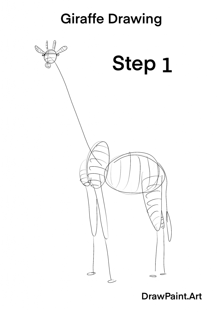 how do you draw a giraffe step by step how to draw a giraffe drawingforallnet do draw step you giraffe how by step a