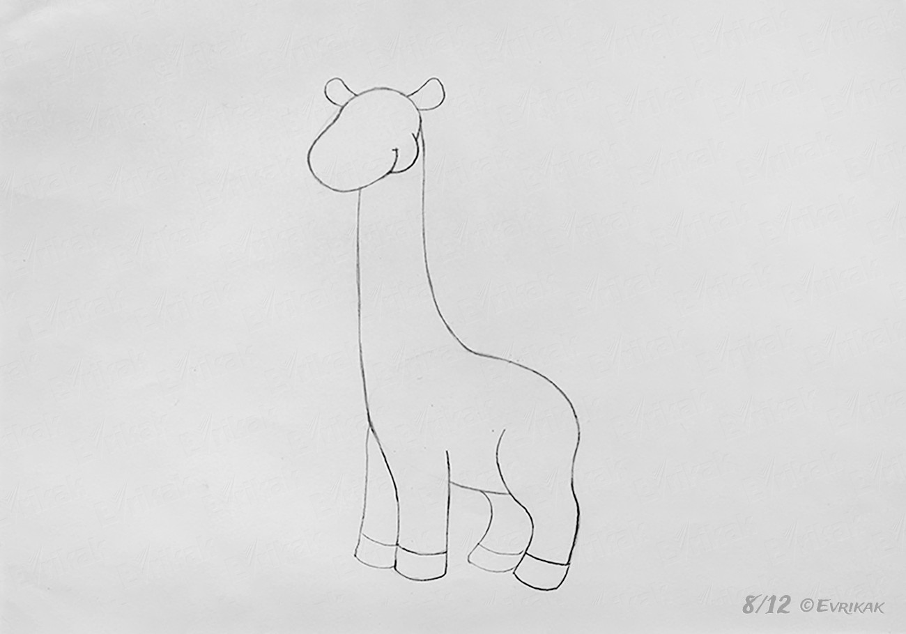 how do you draw a giraffe step by step how to draw a giraffe for a child step by step by step do draw giraffe how a step you