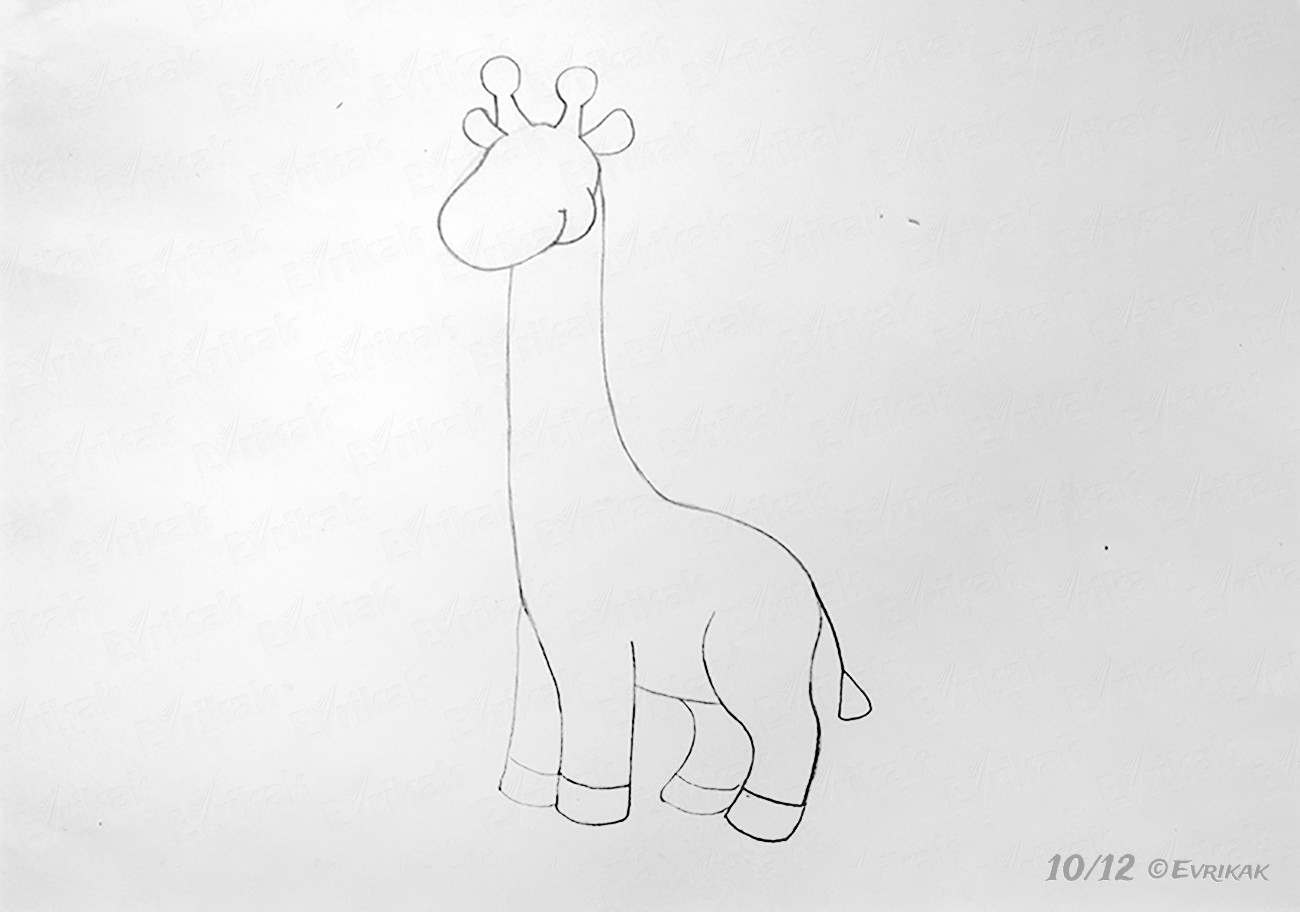 how do you draw a giraffe step by step how to draw a giraffe for a child step by step draw giraffe by do how you step step a
