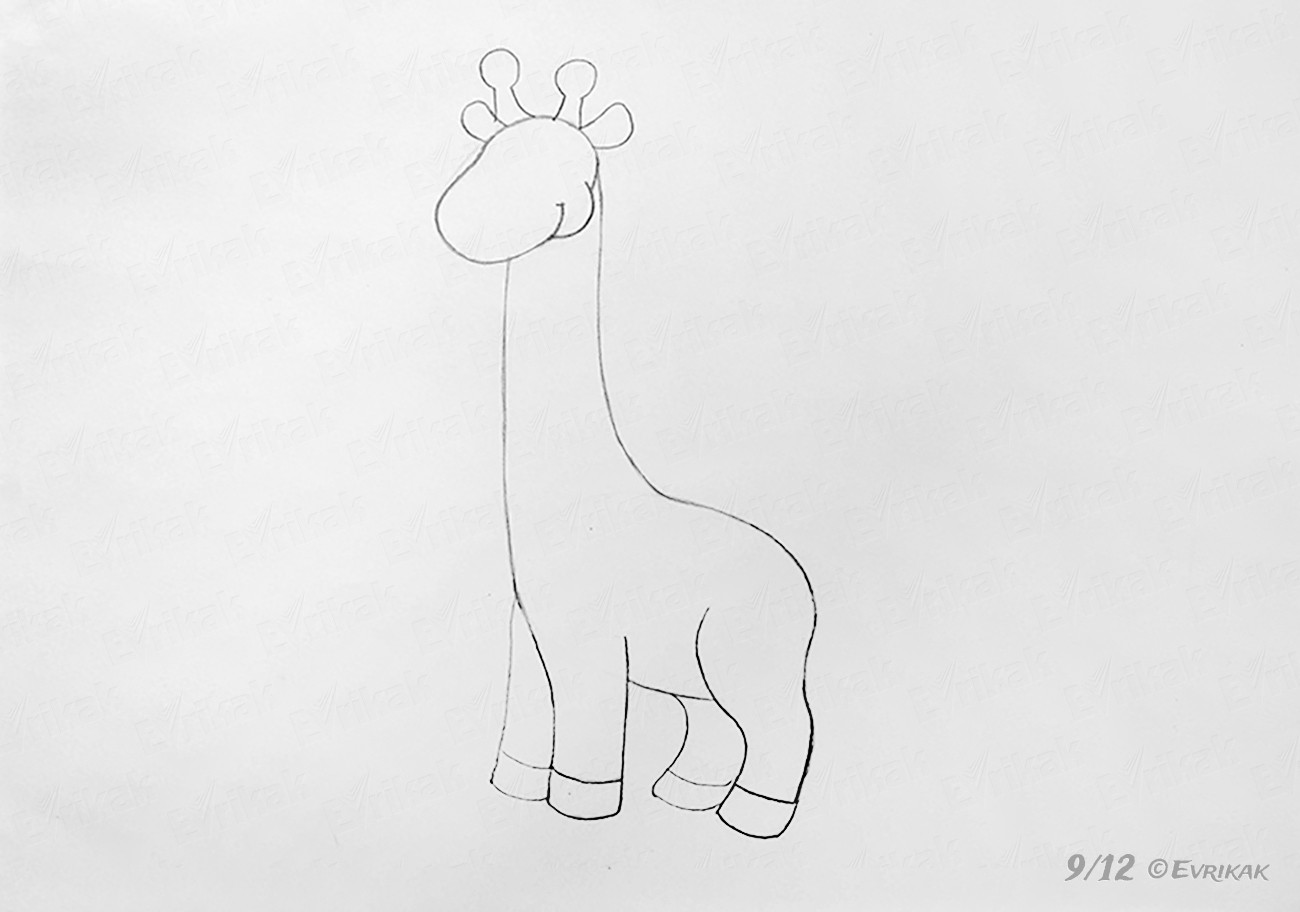 how do you draw a giraffe step by step how to draw a giraffe in stages for a child how step step giraffe by you do a draw