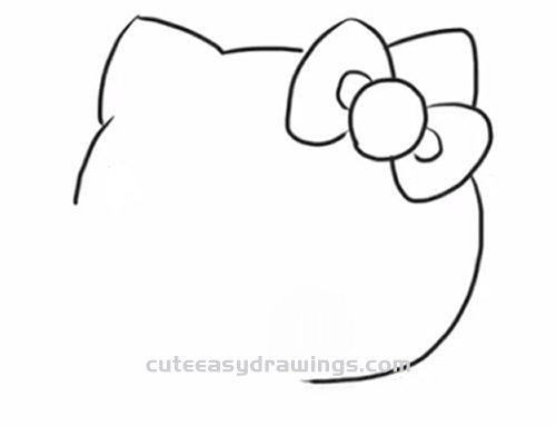 how do you draw hello kitty how to draw a cartoon hello kitty step by step for you do kitty hello how draw