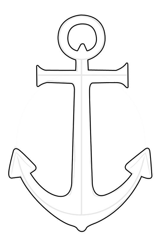how to draw a anchor anchor drawing at paintingvalleycom explore collection draw a to how anchor