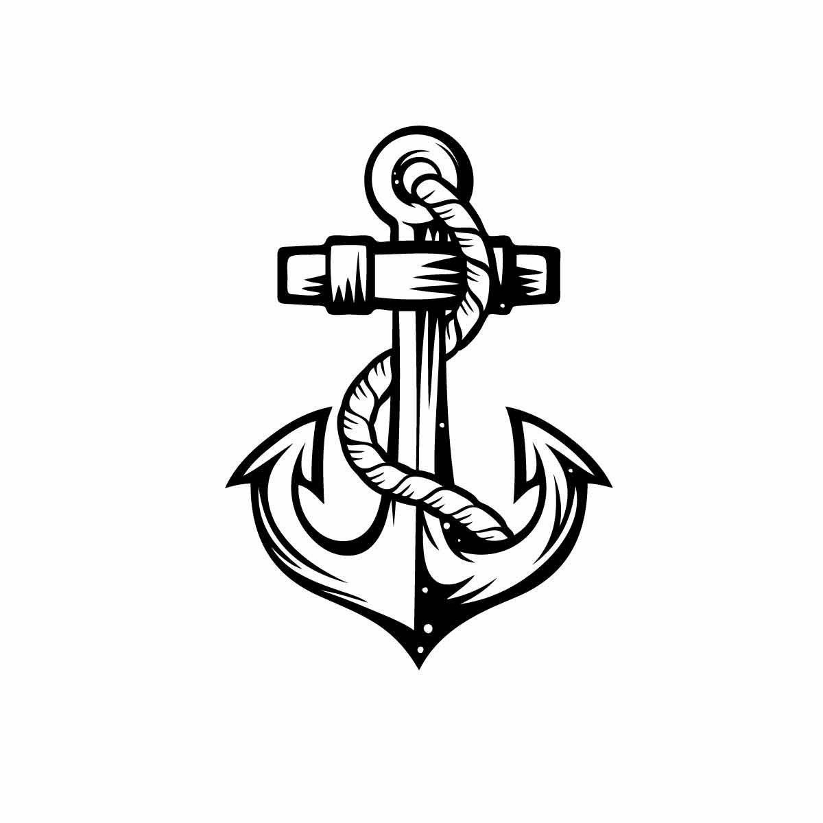how to draw a anchor anchors drawing at getdrawings free download draw a to how anchor