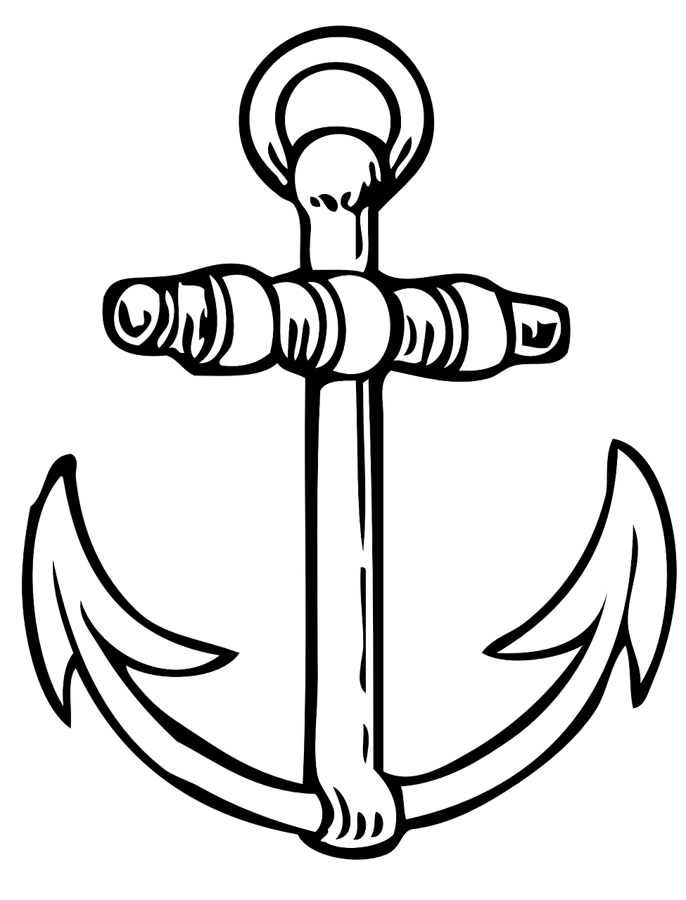 how to draw a anchor boat anchor drawing free download on clipartmag how a anchor draw to