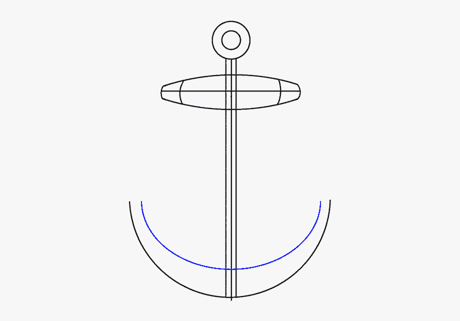 how to draw a anchor how to draw anchor circle transparent cartoon free to draw how a anchor