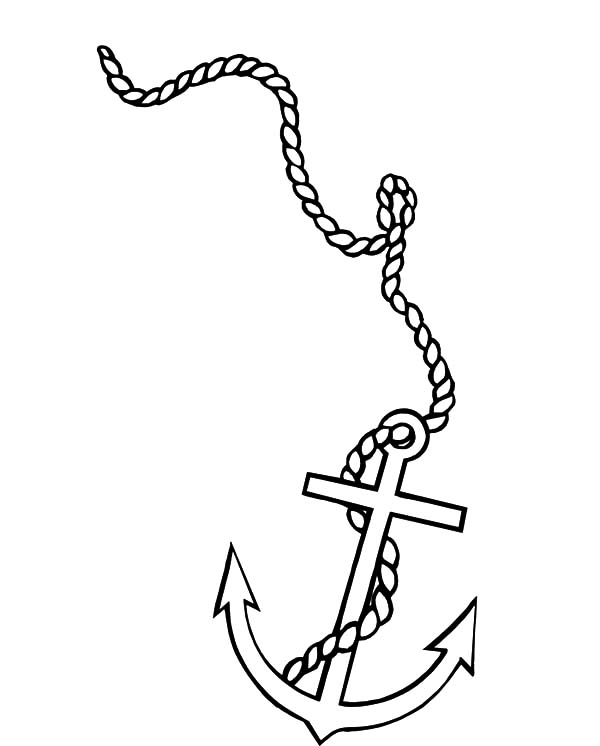 how to draw a anchor navy anchor drawing at getdrawings free download how draw to a anchor