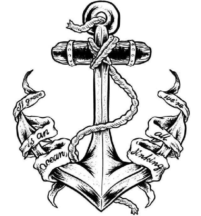 how to draw a anchor navy anchor drawing at paintingvalleycom explore to anchor a draw how
