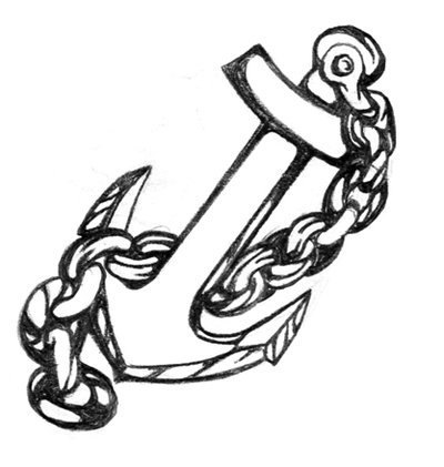 how to draw a anchor simple anchor drawing free download on clipartmag anchor to a draw how