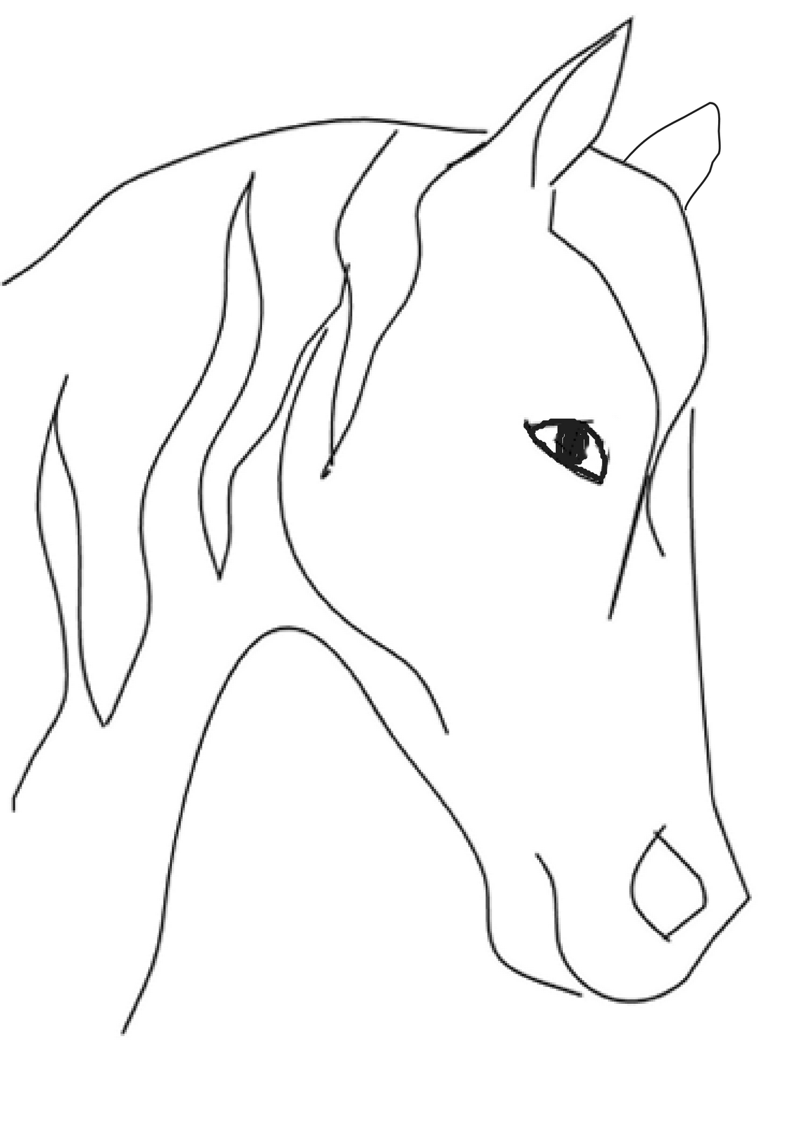 how to draw a baby horse pin on horse coloring pages for kids to baby horse a draw how