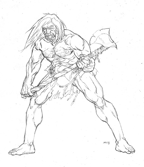 how to draw a barbarian barbarian character drawing by jermohler on deviantart draw to a barbarian how
