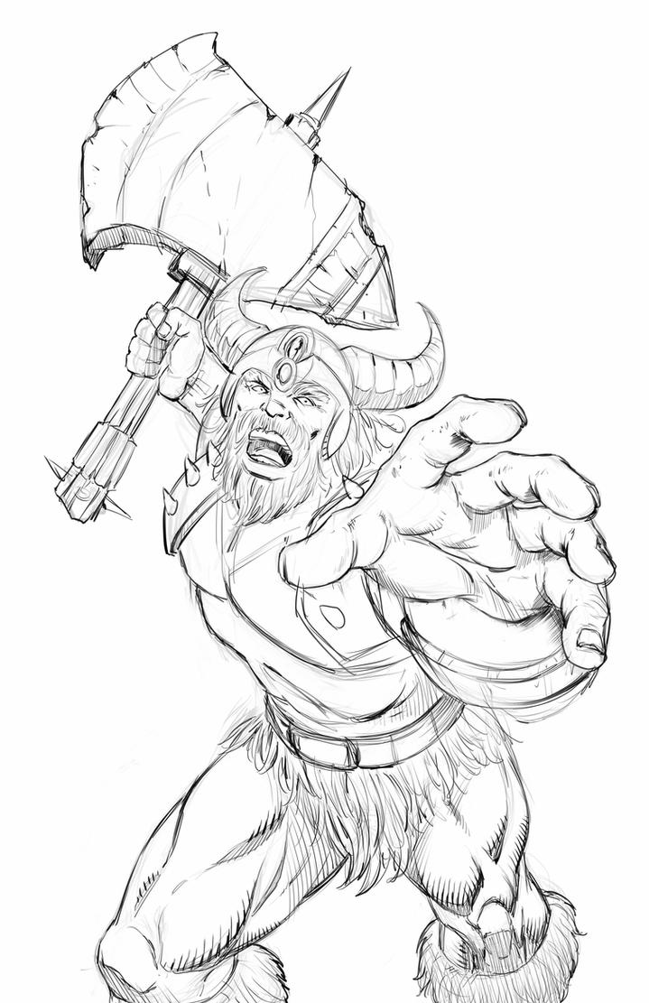 how to draw a barbarian barbarian concept by alexbocadeviantartcom on a to draw barbarian how