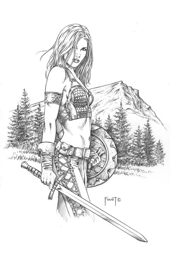how to draw a barbarian barbarian design comm by yamaorce on deviantart how a draw barbarian to